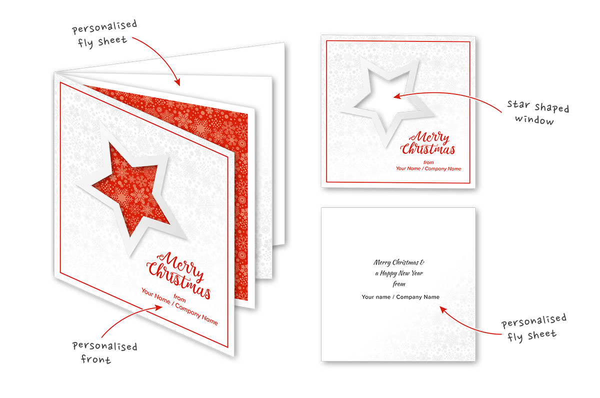 Personalised Charity Christmas Cards Pps Print 01733 349881