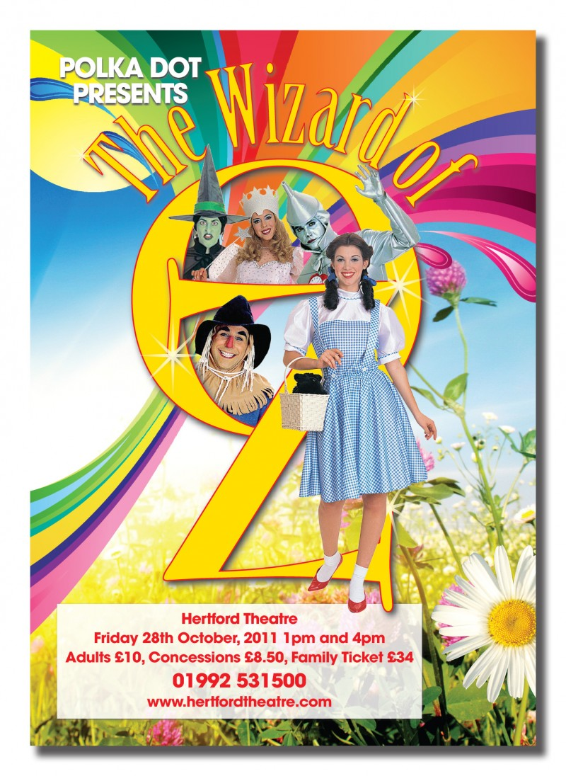 Poster design requirements - A2 Poster Wizard Of Oz