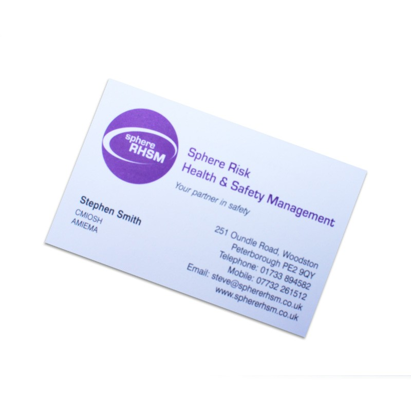 Business cards peterborough pps print view a selection of our work by clicking on the thumbnails below colourmoves