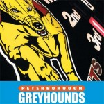 This is the front cover of some bespoke menu cards produced for Peterborough Greyhound Stadium early 2008
