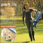 This advertisment was produced for Westacre Homes to promote their development in Peterborough