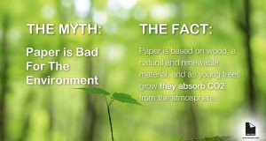 The Myth: Paper is bad for the Environment